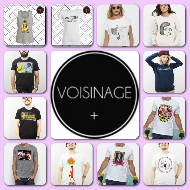 T-shirt voisinage